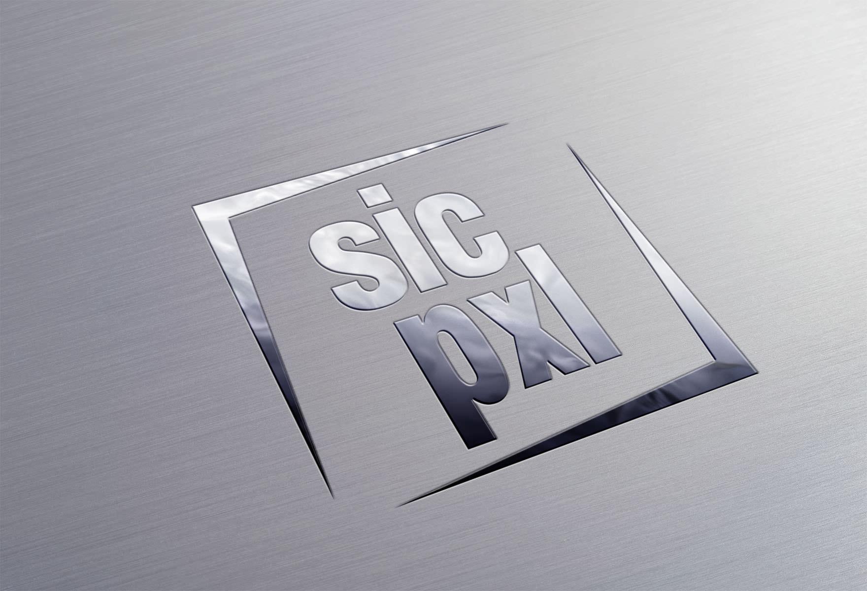 SicPixel-Metallic-Logo
